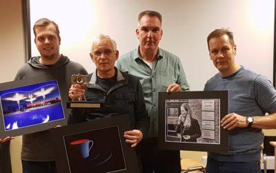 Peter Renkema winnaar Kiekendieftrofee 2019.
